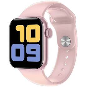 Chytré hodinky Carneo Gear+ CUBE (8588007861258) růžové
