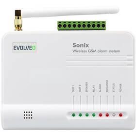 Alarm Evolveo Sonix, bezdrátový, GSM (ALM301) bílé