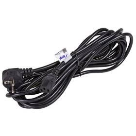 Kabel Akyga napájecí 230V, tří pólový, 5 m (AK-PC-05A) černý