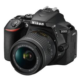 Digitální fotoaparát Nikon D5600 + 18-55 AF-P VR (VBA500K001) černý