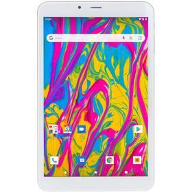 Dotykový tablet Umax VisionBook T8 3G (UMM240T8) stříbrný/bílý