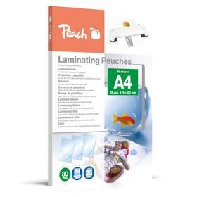 Laminovací fólie Peach A4 (216x303mm), 80mic, 25 ks (PPR080-02)