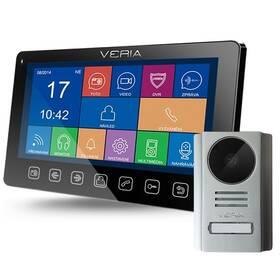 Dveřní videotelefon VERIA set videotelefonu VERIA 7076C + VERIA 229 (S-7076C-229) černý