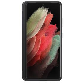 Kryt na mobil Samsung Silicone Cover s perem S Pen na Galaxy S21 Ultra 5G (EF-PG99PTBEGWW) černý