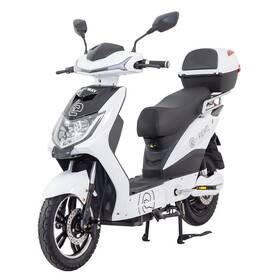 Elektrická motorka RACCEWAY E-FICHTL bílý