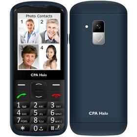 Mobilní telefon CPA Halo 18 Senior s nabíjecím stojánkem - ZÁNOVNÍ - 12 měsíců záruka modrý