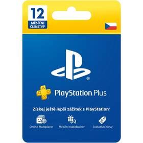 Předplacená karta Sony PLAYSTATION PLUS 12 MĚSÍCŮ – DÁRKOVÁ KARTA - pouze pro CZ PS Store (PS719807346)