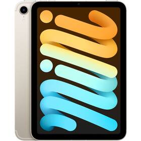 Dotykový tablet Apple iPad mini (2021) Wi-Fi + Cellular 256GB - Starlight (MK8H3FD/A)
