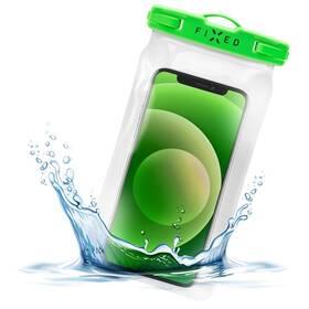 Pouzdro na mobil sportovní FIXED Float, IPX8 (FIXFLT-LM) zelené