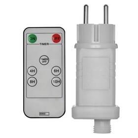 Napájecí adaptér EMOS s dálkovým ovladačem pro spojovací řetězy, až 800 LED (1534230000)