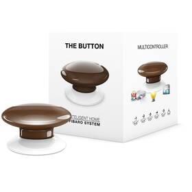 Tlačítko Fibaro Button, Z-Wave Plus (FIB-FGPB-107-ZW5) hnědé