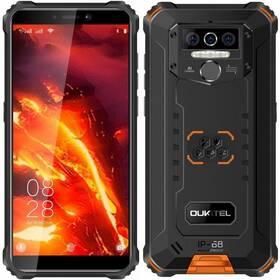 Mobilní telefon Oukitel WP5 Pro (WP5 Pro Orange) černý/oranžový