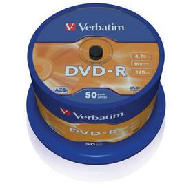 Disk Verbatim DVD-R 4,7GB, 16x, 50cake (43548)