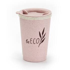 Termohrnek G21 beECO Espresso 280 ml růžový