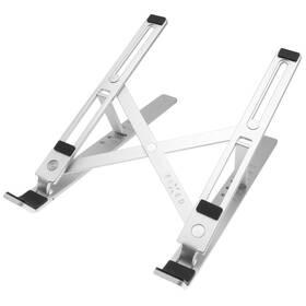 Stojánek FIXED Frame Fold pro notebooky a tablety, skládací (FIXFR-FO-SL) stříbrný