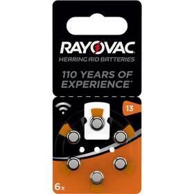 Baterie do naslouchadel Varta Rayovac 13, blistr 6ks (4606945416)