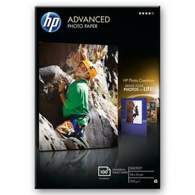 Fotopapír HP Advanced Photo Paper, lesklý, 10 x 15cm, bez okraj, 100 listů, 250 g/m2 (Q8692A)