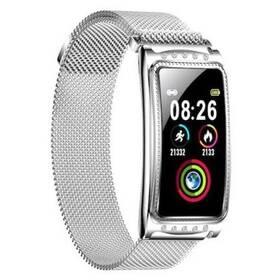 Chytré hodinky IMMAX Crystal Fit - ZÁNOVNÍ - 12 měsíců záruka stříbrné