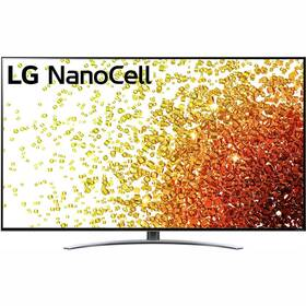 Televize LG 65NANO92P stříbrná