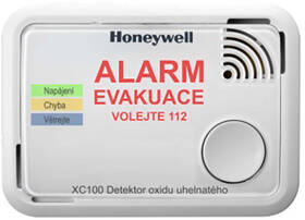 Detektor oxidu uhelnatého Honeywell XC100-CSSK-A, Alarm Scan (XC100-CSSK-A)