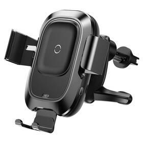 Držák na mobil Baseus Wireless Charger Smart Vehicle Bracket Air Vent (WXZN-01) černý