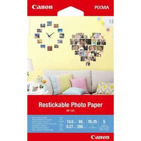 Fotopapír Canon RP-101, přelepovatelný, 10x15 cm, 5 listů (3635C002)