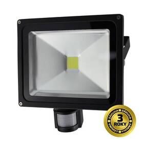 LED reflektor Solight 30W, studená bílá, 2100lm, se senzorem (WM-30WS-E) černý
