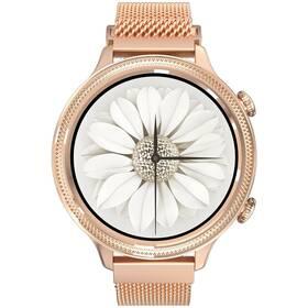Chytré hodinky Carneo Gear+ Deluxe (8588007861197) zlaté