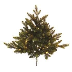 LED dekorace EMOS 40 LED vánoční stromeček, 75 cm, 3x AA, vnitřní, teplá bílá, časovač (DCTW16)