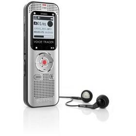Diktafon Philips DVT2000 (353609) černý/šedý