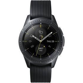 Chytré hodinky Samsung Galaxy Watch 42mm - ZÁNOVNÍ - 12 měsíců záruka černé