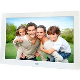 Elektronický fotorámeček Sencor SDF 874 bílý