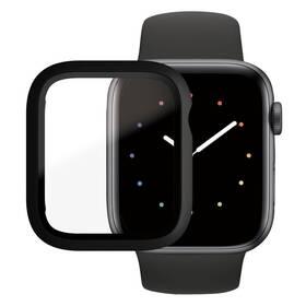 Tvrzené sklo PanzerGlass Full Protection na Apple Watch 4/5/6/SE 44mm s rámečkem (3641) černé