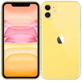 Mobilní telefon Apple iPhone 11 64 GB - Yellow (MHDE3CN/A)