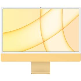 "Počítač All In One Apple iMac 24"" CTO M1 8x GPU, 8GB, 256GB, CZ - Yellow (Z12S000CP)"