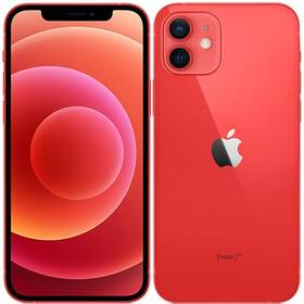 Mobilní telefon Apple iPhone 12 256 GB - (Product)Red (MGJJ3CN/A)
