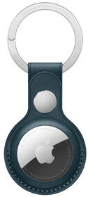 Apple AirTag kožená klíčenka - baltsky modrá