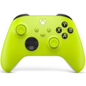 Gamepad Microsoft XSX Wireless Controller - Electric Volt (MSSP30022) zelený