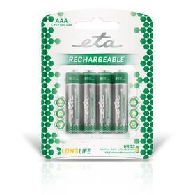 Baterie nabíjecí ETA AAA, HR03, 950mAh, Ni-MH, blistr 4ks (R03CHARGE9504)