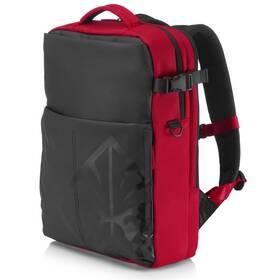 """Batoh na notebook HP OMEN Gaming Backpack pro 17"""" (4YJ80AA#ABB) černý/červený"""