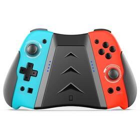 Gamepad iPega SW006B Wireless Joycon vč. Multi Grip pro Nintendo Switch (PG-SW006) červený/modrý