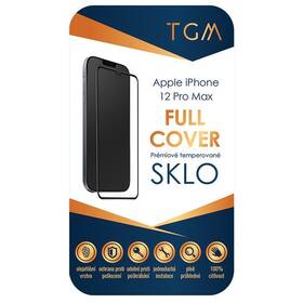Tvrzené sklo TGM Full Cover na Apple iPhone 12 Pro Max (TGMFCAPIP1267) černé
