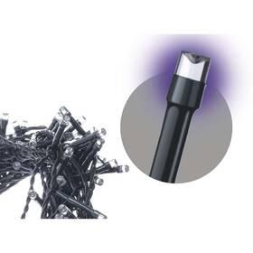 Spojovací řetěz EMOS 100 LED, 10m, fialový (1534990036)