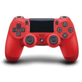 Gamepad Sony Dual Shock 4 pro PS4 v2 (PS719814153) červený