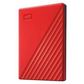 """Externí pevný disk 2,5"""" Western Digital My Passport Portable 2TB, USB 3.0 (WDBYVG0020BRD-WESN) červený"""