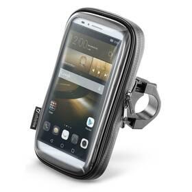 """Držák na mobil Interphone na telefony do velikosti 6,5"""", úchyt na řídítka (SMSMART65) černý"""