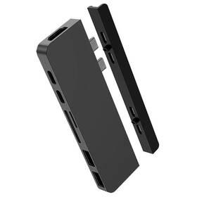 USB Hub HyperDrive DUO 7-in-2 Hub USB-C MacBook Pro (HY-HD28C-GRAY) šedý