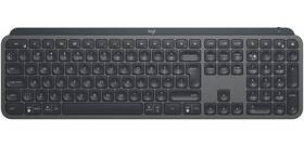 Klávesnice Logitech Wireless MX Keys, US (920-009415) šedá