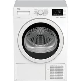 Sušička prádla Beko Superia HDF7434CSRX bílá barva