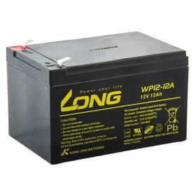 Akumulátor Avacom Long 12V 12Ah F2 (PBLO-12V012-F2A) černá